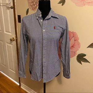 Ralph Lauren Sport Plaid Button down Shirt